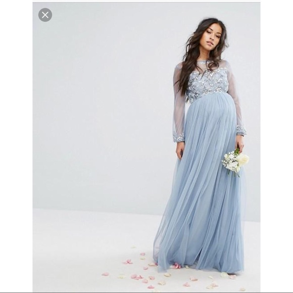 777d8f652e8b9 ASOS Dresses & Skirts - ASOS Maya Maternity Tulle Gown size 4